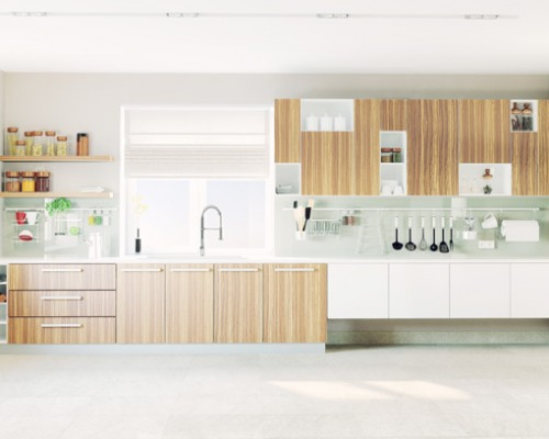 Spotless kitchen design